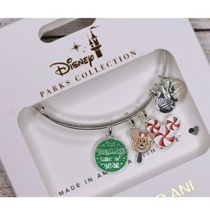 Alex and Ani Jewelry - Alex and Ani Disney Holiday Treat Silver Bracelet
